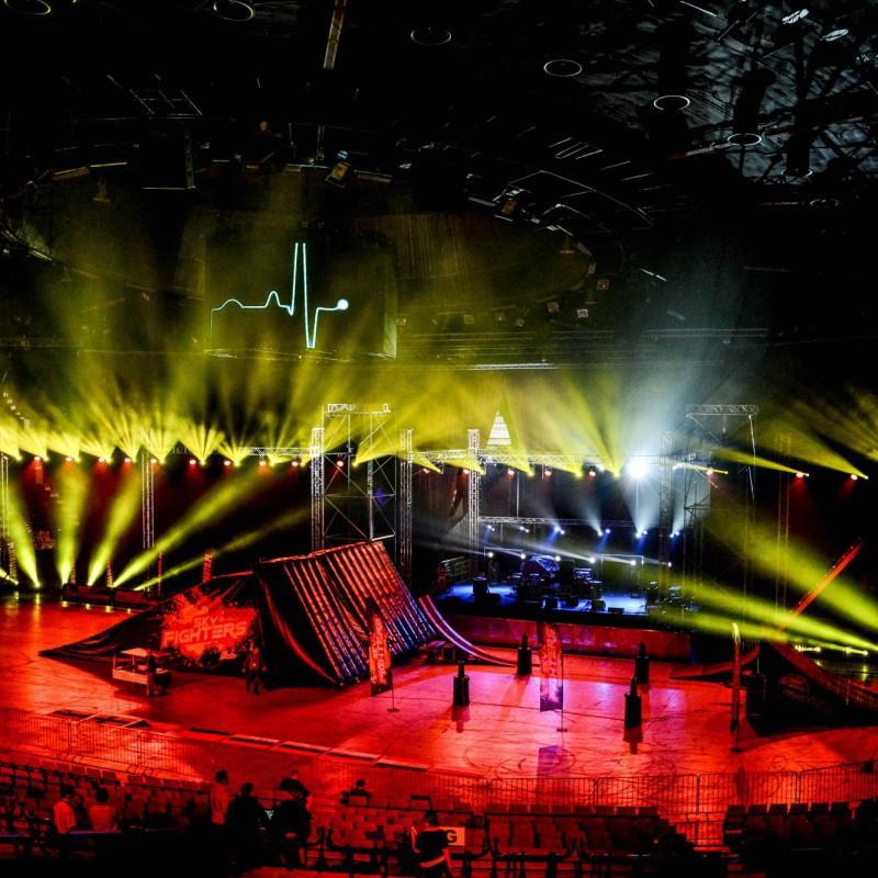 oświetlenie na imprezie w Katowicach