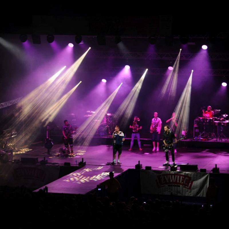 koncert, oświetlenie