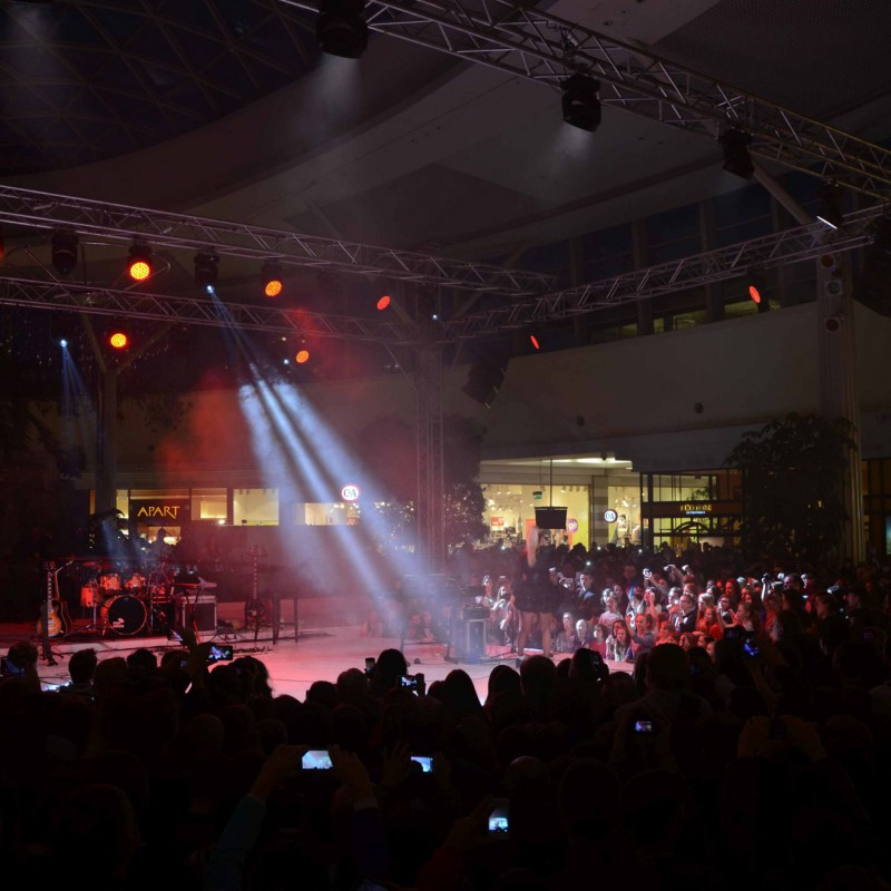 oświetlenie, koncert walentynkowy