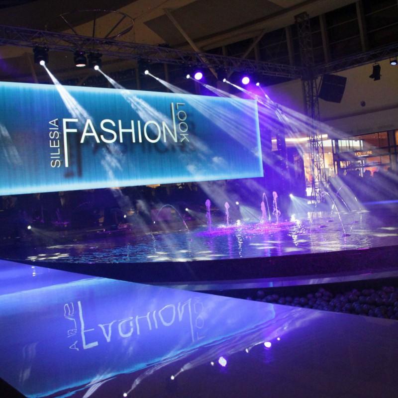 pokaz mody, oświetlenie
