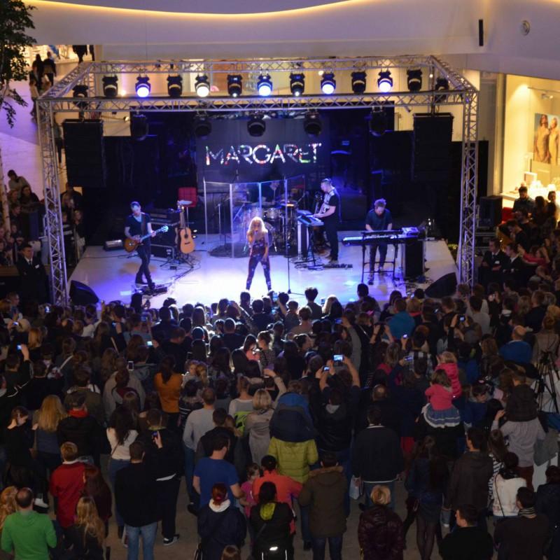 Talent show, scena i oświetlenie