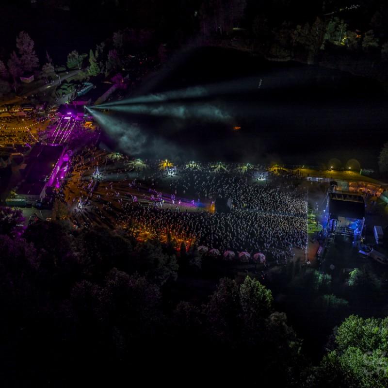 oświetlenie, festiwal