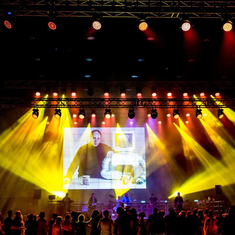 event, oświetlenie