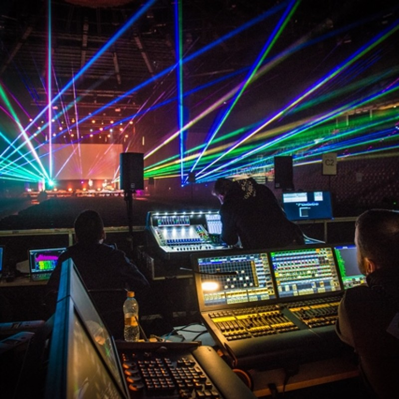 oświetlenie sceniczne, musical