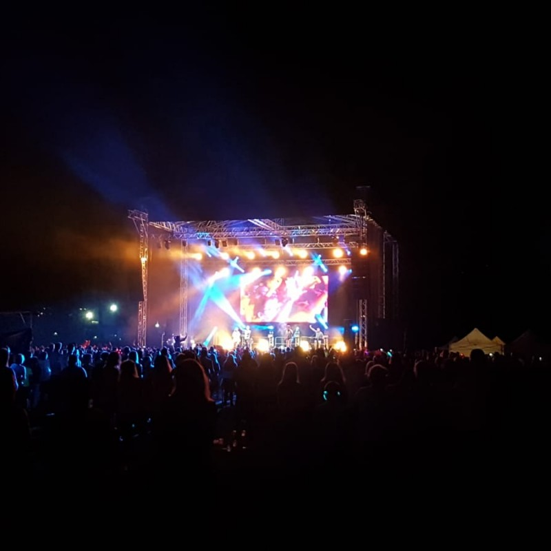 festiwal, scena na festiwalu