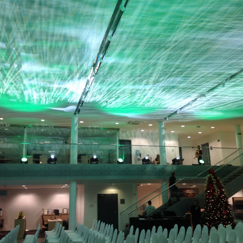 oświetlenie sali